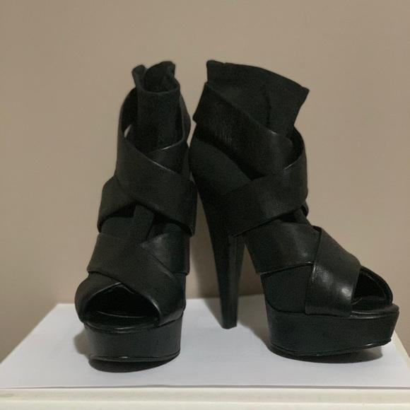 Aldo high heeled open toe